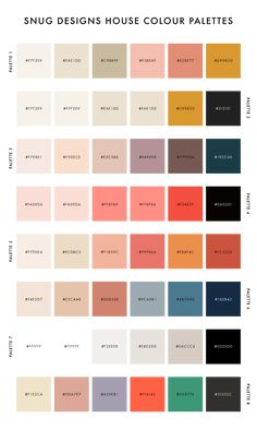 Color palettes 491103534367310089 - How to Create a Custom Colour Palette for your Snug Theme – Snug Designs Source by perlees House Color Palettes, Pantone Colour Palettes, Pastel Colour Palette, Colour Pallette, Color Palate, Pantone Color, Pastel Colors, Vintage Colour Palette, Summer Color Palettes