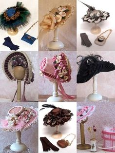 how to: miniature millinery tutorials