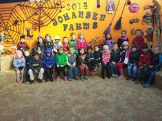 The kids had so much fun on their field trip to the #PumpkinPatch!
