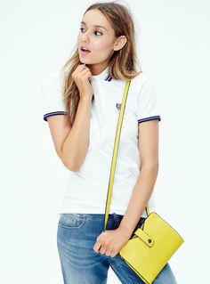 Team Twik | Twik Club Polo available at La Maison Simons. #sporty #cute #fashion