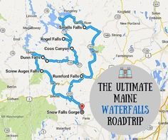 Pile into the car and grab some snacks!  http://www.onlyinyourstate.com/maine/waterfalls-road-trip-me/