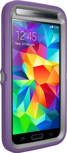 Otterbox [Defender Series] Samsung Galaxy S5 Case - Frustration-Free Packaging Protective Case for Galaxy S5  - (Gunmetal Grey/Opal Purple ) OtterBox http://www.amazon.com/dp/B00IPGVW62/ref=cm_sw_r_pi_dp_FuMJub19S8WFS