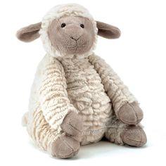 Jellycat Fuddles Lamb for farm themed nursery.