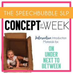 Basic concepts are essential building blocks of language. When children are delayed in acquiring these words it can simple tasks challenging and frustrating for them. We know frequent and consistent repetition of information is always best when teaching a new skill, so why do it when we teach basic concepts.This set allows you the target one of the four specific concepts all week!