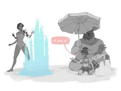 - Loved that beach-episode of Overwatch!...