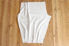 タック入りサーカスパンツの製図・型紙と作り方 | nunocoto fabric Couture, Linen Pants, Basic Tank Top, Tank Tops, Sewing, Womens Fashion, Fabric, Clothes, Karate