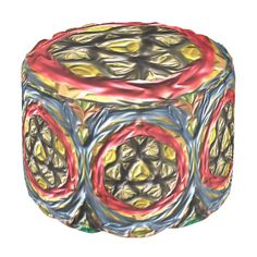 A colorful and abstract pattern with a decorative and trendy looks. Use it on product of your choice to give it a modern and stylish look. You can also customize it to get a more personal look. Ottoman Design, Poufs, Yellow Black, Abstract Pattern, Color Patterns, Colorful, Texture, Stylish, Outdoor Decor