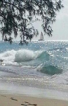 Barbados, sparkle on the ocean
