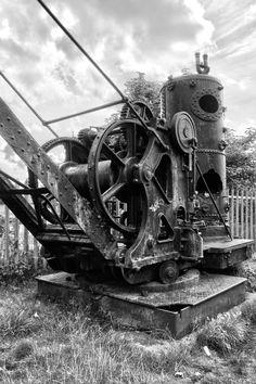 Steam crane Lancashire