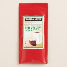 World Market® Red Velvet Single-Serving Cocoa Mix, Set of 4