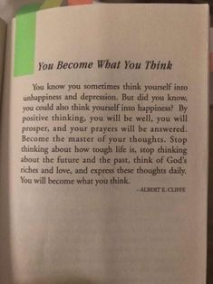 You become what you think. If you will think positive, you will see positive else! Wisdom Quotes, True Quotes, Motivational Quotes, Inspirational Quotes, Encouragement Quotes, Quotes Quotes, Reality Quotes, Mood Quotes, Positive Quotes