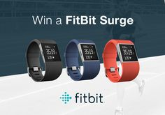Hey there, I just entered to Win a FitBit Surge! Enter now for your chance! Competition Giveaway, Win Competitions, Fitness Tracker, Fitbit, Jr, Apps, Stuff To Buy, Giveaways, Random