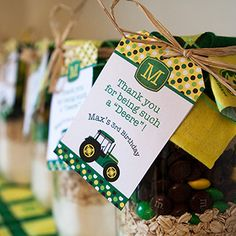 Themed Ideas | John Deere birthday party ○