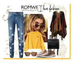 """Romwe-contest"" by zijadaahmetovic ❤ liked on Polyvore featuring STELLA McCARTNEY, NIKE, McQ by Alexander McQueen and ToyShades"