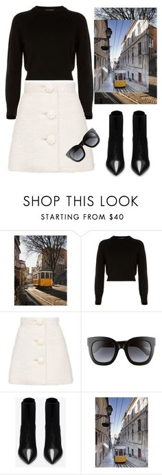 """""""Lisbon Daily"""" by ladybates ❤ liked on Polyvore featuring Helmut Lang, Gucci and Yves Saint Laurent"""