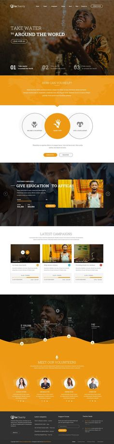 InCharity might be one of the best PSD template at Themeforest for Charity, Fundraising and Non-Profit and corporate website. Some of the key features: responsive design, parallax scrolling, 6+ homepage, #Charity and #Fundraising design, woo-commerce, free font and icons #psdtemplate: