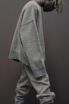 Kanye West Zine - Yeezy x Adidas Season via style.com.Photo: Jackie Nickerson.More Fashion here.