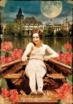 Postcard - Budapest - Castle of Vajdahunyad. Ft400.00, via Etsy.