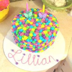 Bildergebnis Fur Easy 2 Year Old Birthday Cake Ideas Girl