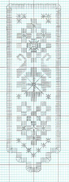 Hardanger *♥* Marque page