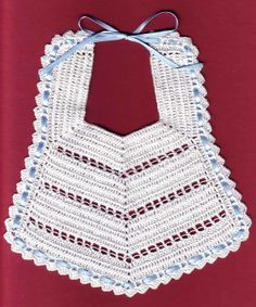 Heirloom crochet bib free pattern crochet for children baberos y tutoriales ms dt1010fo