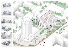 Architects for Urbanity Varna Library Competition entry