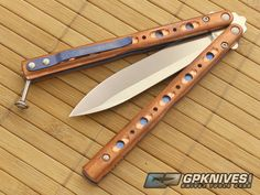 Benchmade 51 Balisong with Flytanium Copper Scales for Sale | GPKNIVES.com
