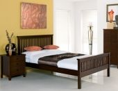 Bentley Designs Bentley Atlanta Dark Wooden Bedstead, King Size, Bentley Atlanta Dark wooden bed in King Size. Was pound Dark Wood Bed Frame, Oak Bed Frame, King Bed Frame, Wooden Bed Frames, Wood Beds, Solid Wood Bedroom Furniture, Walnut Furniture, New Furniture, Oak Double Bed