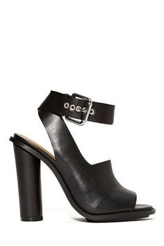 Shoe Cult Peep Show Heel | Shop Shoe Cult at Nasty Gal ~ I Love Them - But They're Toooooo High:):