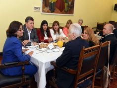 Lucia Corpacci recibió al Coordinador del Programa Nacional de Alimentación Saludable y Prevención de la Obesidad, Alberto Cormillot