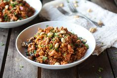 Thai Peanut Risotto from Half Baked Harvest #tasteamazing #recipe
