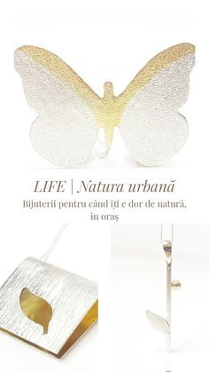 For those who live in the city and love nature & jewelry Live, Spring, Nature, Jewelry, Author, Atelier, Naturaleza, Jewlery, Bijoux