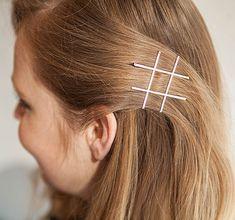 Hashtag Hair with Bobby Pins