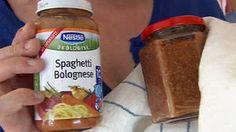 Barnemat - brokolimos og spaghetti bolognese