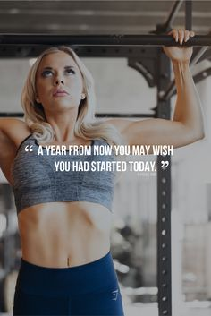 A year from now you may wish you had started today - Karen Lamb