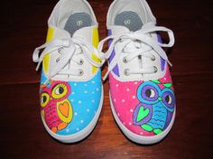 Hello! My first pair of custom painted shoes is up for sale on Etsy. Please repin and check them out! Thank you!