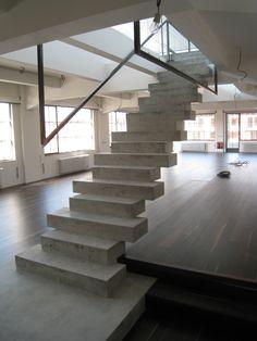 11 Inspiring Concrete Stairs Design Image