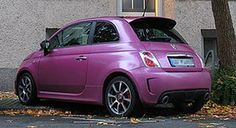 5ooblog | FIAT 5oo: New Abarth 500 PURPLE
