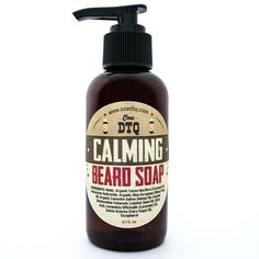 Beard Soap - Beard Shampoo (4 fl oz) - Calming Blend