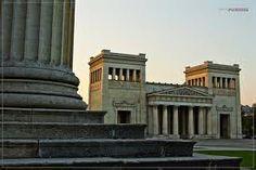 Leo von Klenze. Propylaea. Munich. 1846-50 German Greek Revival