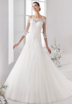 Classy Nicole Spose Wedding Dresses Aurora Collection; www.nicolespose.it