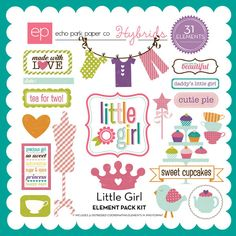 Little Girl Element Pack #1 - Snap Click Supply Co.