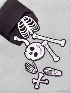 Faça estes convites para a festa de halloween dos seus filhos! DOWNLOAD FREE TEMPLATES + TUTORIAL via MR. PRINTABLES ...