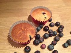 Fresh blueberry cupcakes are so yummy as a breakfast treat
