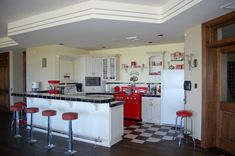 50's Kitchen | Our 50's kitchen in our recreation room. The … | Flickr