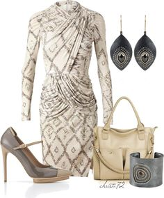 """""""Abstract Dress"""" by christa72 on Polyvore"""