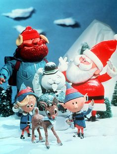 One of my favorite childhood movies. Burl Ives was the voice of the snowman.