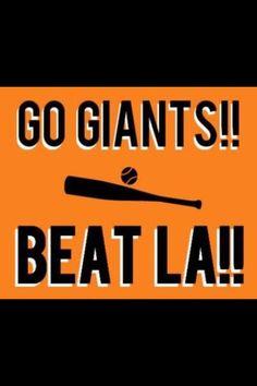 SF Giants  Beat LA!!