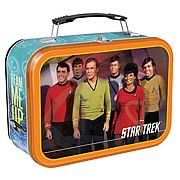 Star Trek Original Series Lunch Box \\ This Site, Entertainment Earth, is a GOLD MINE of TV/Movie stuffs. Whoa.
