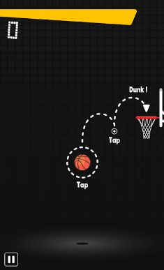 In this endless basketball game, get on fire with a sequence of swish (a shot which goes through the net without hitting the rim or backboard) and win more points.